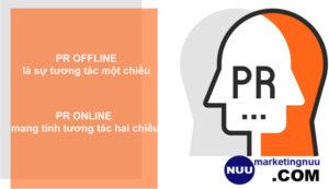 Pr online và Pr offline