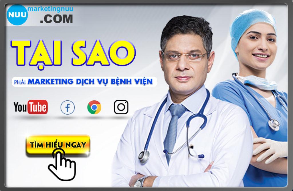 Tại sao phải marketing dịch vụ bệnh viện