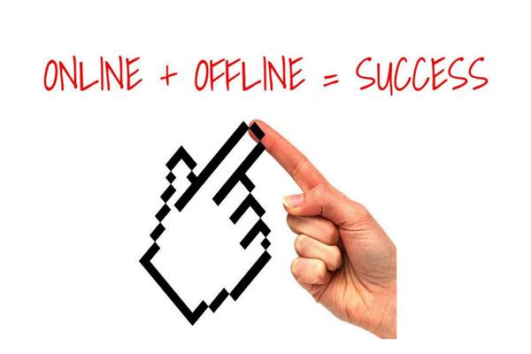 Kết hợp marketing online và offline để mang lại hiệu quả cao nhất