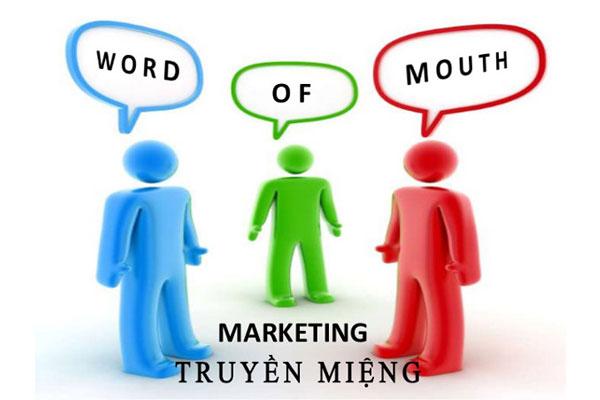 Quảng cáo truyền miệng là đỉnh cao marketing truyền thống